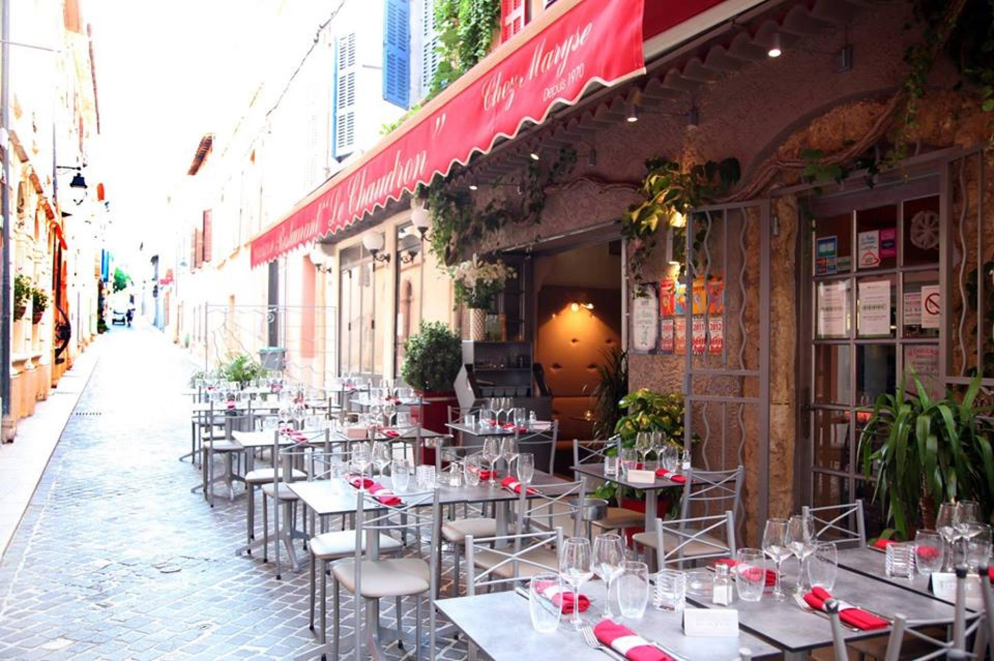 Poissons et viandes grillées, il n'y a que des produits frais au restaurant Le Chaudron à Cassis